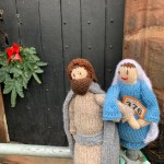 Holy Family at Church Door