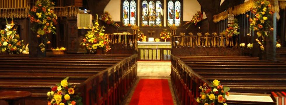 Lower peover Church Harvest Festival