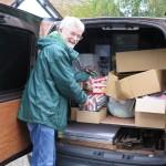 Delivering Harvest produce