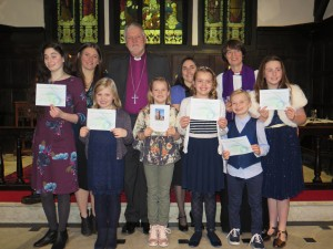 Confirmation with Bishop Keith
