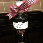 Bottle of Damson Gin