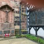 St Oswald's war memorial