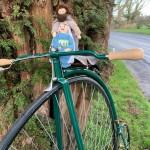 Holy Family on bike