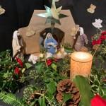 Holy Family at Crib