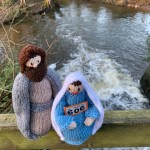 Maty and Joseph on bridge
