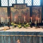 Shakerley chapel altar
