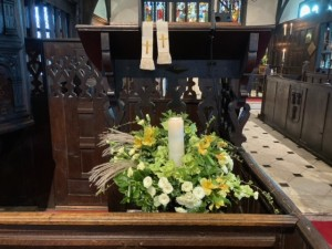 Lectern candle