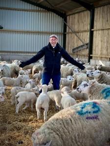 Fr Murray meets the flock